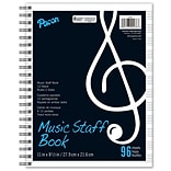 "Pacon® Music Staff Book, 11 x 8-½"", 96 Sheets"