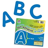 Self-Adhesive Letters, 4, 78 Characters, Blue