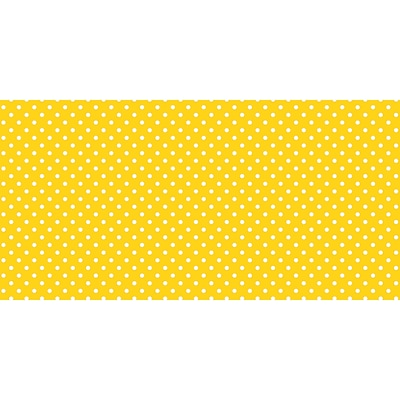 Pacon Fadeless® Design Roll, 48 x 50, Classic Dots, Yellow (PAC57415)