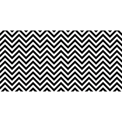 Pacon Fadeless® Design Roll, 48 x 50, Black & White Chevron (PAC57715)