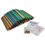 Artstraws®, 1,800 straws, 15.5 x 4mm, Assorted Colors (PACAC9230)
