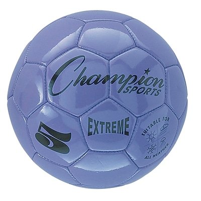 Champion Sports Extreme Size 5 Purple Soccer Ball (CHSEX5PR)