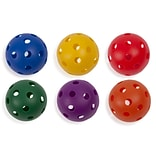 Plastic Balls, Baseball size, Set of 6
