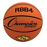 Champion Sports® Intermediate Pro Rubber Basketball