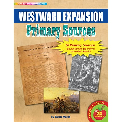 Primary Sources, Westward Expansion Movement