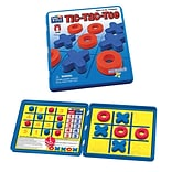 Playmonster Take n Play Anywhere Game Tic Tac Toe, Red and Blue (PAT675)