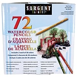 Sargent Art Watercolor Pencils, Assorted Colors, 72/Pack (SAR227272)