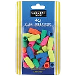 Sargent Art 40-Count Cap Eraser, Assorted, 6/Bundle (SAR361015)