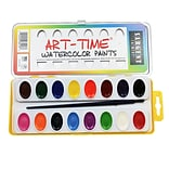 Sargent Art® Art Time® Semi Moist Watercolor Paints, 16 Colors