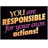 Responsible for your own actions! Poster