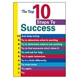 The Top 10 Steps to Success Poster