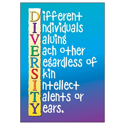 Trend® Educational Classroom Posters, Diversity
