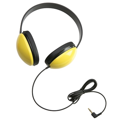 Listening First Stereo Headphones, Yellow
