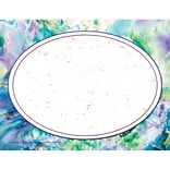 Purple Marble/Oval Border Certificate