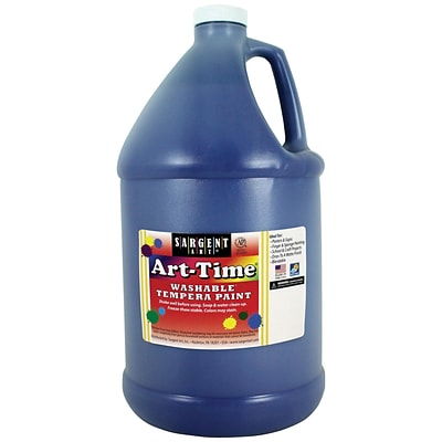 Sargent Art® Art-Time® Gallon Washable Tempera Paints, Blue