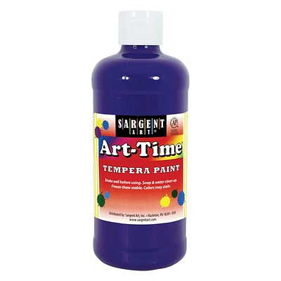 Sargent Art® Art-Time® 16 oz. Liquid Tempera Paints, Violet