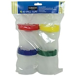 Sargent Art Non-Spill Paint Cup With Poly Bag, 4/Pack