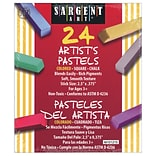 Sargent Art® Assorted Color Artists Chalk, 24/Box