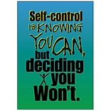 Self-Control is Knowing You Can Poster