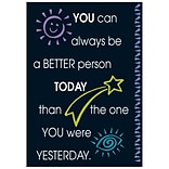 You can always be a better person… Poster