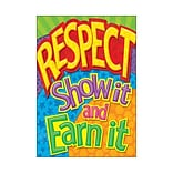 Classroom Poster; Respect: Show it & earn it