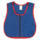 Childrens Factory Heavy Duty Cotton/Poly Manual Dexterity Vest with Zipper Closure