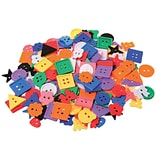Learning Advantage™ 5/8 to 1(Dia.) Small Buttons, Assorted, 575/Pack