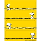 Eureka® Label Sticker, Peanuts® Yellow, 56/Pack
