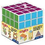 GeoMagWorld Magicube Multicolored Building Set, 64 pieces (GMW129)