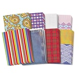 Roylco® Fabulous Fabric Craft Papers