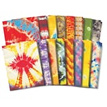 Roylco Tie Dye Craft Paper, 8.5 x 11, Assorted Designs, 32 Sheets (R-15263)