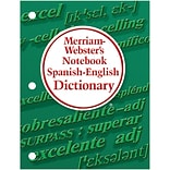 Merriam Websters Notebook Spanish-English Dictionary