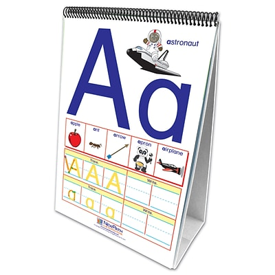 NewPath Learning Curriculum Mastery Learning Flip Chart Set, Alphabet (NP-320021)