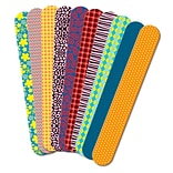 Roylco® Fabric Prints Craft Sticks, 1 x 7, 50/Pack