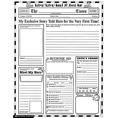 Scholastic Writing Resources, Personal Poster Sets