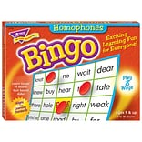TREND enterprises, Inc. Homophones Bingo Game (T-6132)