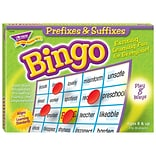 TREND enterprises, Inc. Prefixes & Suffixes Bingo Game (T-6140)