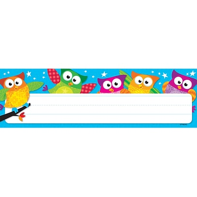 Owl-Stars!™ Desk Toppers® Name Plates
