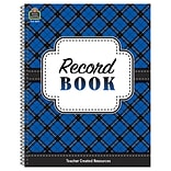 Teacher Created Resources Plaid Record Book (TCR8297)