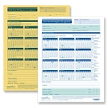 ComplyRight 2019 Time Off Request and Approval Form, 8-1/2 x 11, 2-Part, Pack of 50 (A0030)