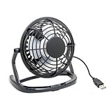 Syba Compact USB Desk Fan USB Powered with On/Off Switch (High Velocity, 5oz Lightweight Design)