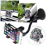 Insten Universal Car Mount Suction Phone Holder Dashboard Windshield Cradle For Smartphone