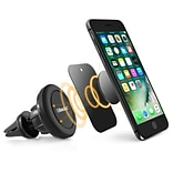 BasAcc Black Universal 360 Degree Rotating Joint Ball Magnetic Car Mount Air Vent Phone Holder For i