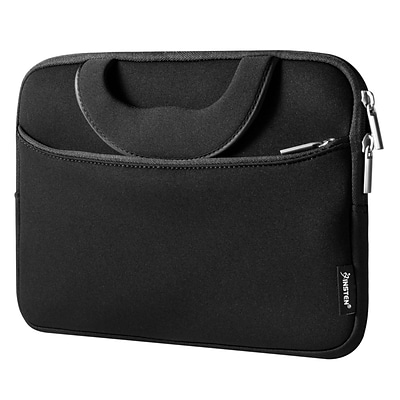 Insten Shockproof Sleeve Pouch Zipper Carry Bag Protective Soft Case Cover for 10 Notebook / Laptop / Tablet - Black