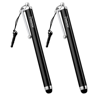 Insten 2-Pack Black Stylus Pen For Smartphone/ Tablet