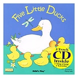 Childs Play® Five Little Ducks Book & Cd
