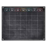28 1/2 x 22 1/4 Chalk It Up! Large Calendar Chart, Multicolor (CTP1534) 6 EA/BD
