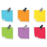 Creative Teaching Press 6 Designer Cut-Outs, Bold & Bright Sticky Notes (CTP5800)