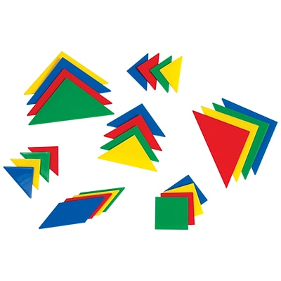 Learning Advantage™ Tangrams, Set Of 4