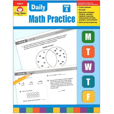 Evan-Moor® Daily Math Practice, Grade 4